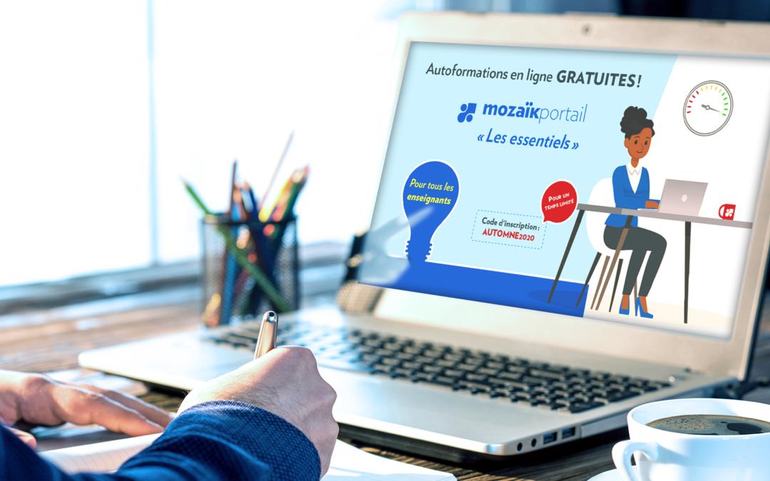 Autoformations en ligne gratuites pour tous les enseignants